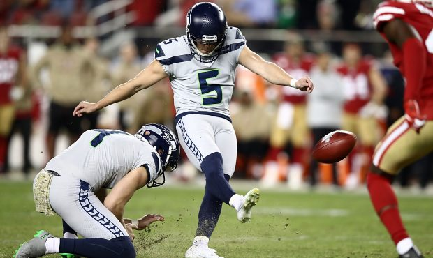 Jason Myers, a kicker for the Seattle Seahawks - one of the best kickers in the NFL