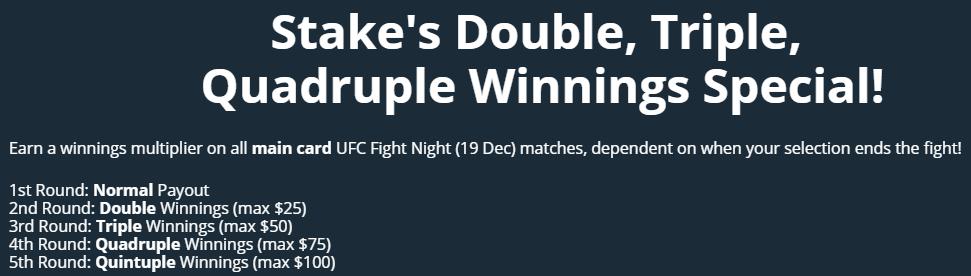 Boxing Promo in Stake