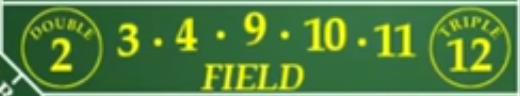 Field Bet in Craps
