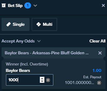 Stake is not offering a value bet on this match.