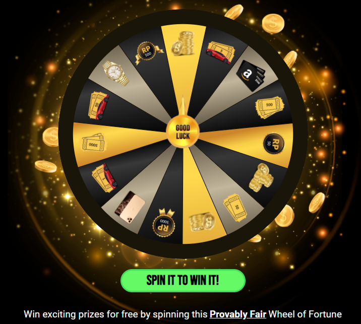 FreeBitco.in Lucky Spin